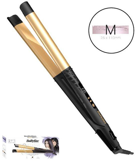 BABYLISS ST440E Haarglaetter Creative Straight n Curl 2 in 1 36150035027 01