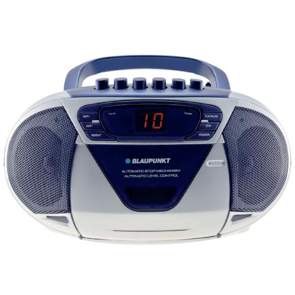 blaupunkt b6 blau radiorecorder mit cd player mp3 link kassettenlaufwerk ebay. Black Bedroom Furniture Sets. Home Design Ideas