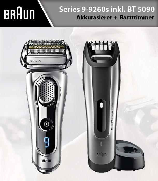 Braun 布朗 旗舰系列9260S 剃须刀+5090 理发器
