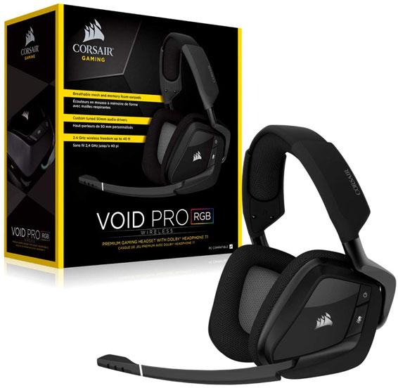 Corsair Headset Void Pro RGB Wireless 7 1 18290014024 11 566