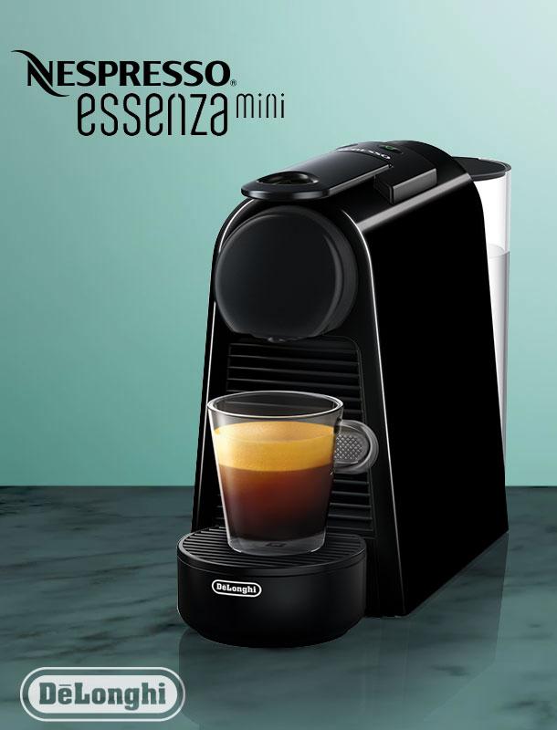 delonghi en 85 b essenza mini nespresso kapselsystem. Black Bedroom Furniture Sets. Home Design Ideas