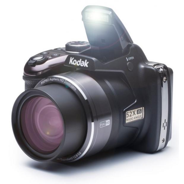 kodak pixpro az525 16 mp wifi digitalkamera 52x opt zoom full hd video schwarz ebay. Black Bedroom Furniture Sets. Home Design Ideas