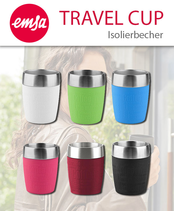 emsa travel cup isolierbecher kaffeebecher thermobecher to. Black Bedroom Furniture Sets. Home Design Ideas