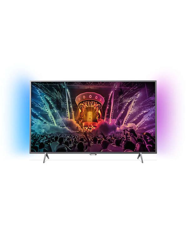 philips 43pus6201 108cm 43 4k ultra hd led fernseher ambilight smart tv 800 hz ebay. Black Bedroom Furniture Sets. Home Design Ideas