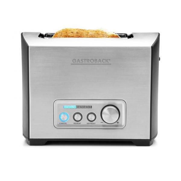 gastroback 42397 design toaster pro 2s edelstahl high lift. Black Bedroom Furniture Sets. Home Design Ideas