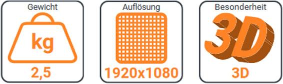 XCIMI H2 1080p LED Projektor 11160004868 12