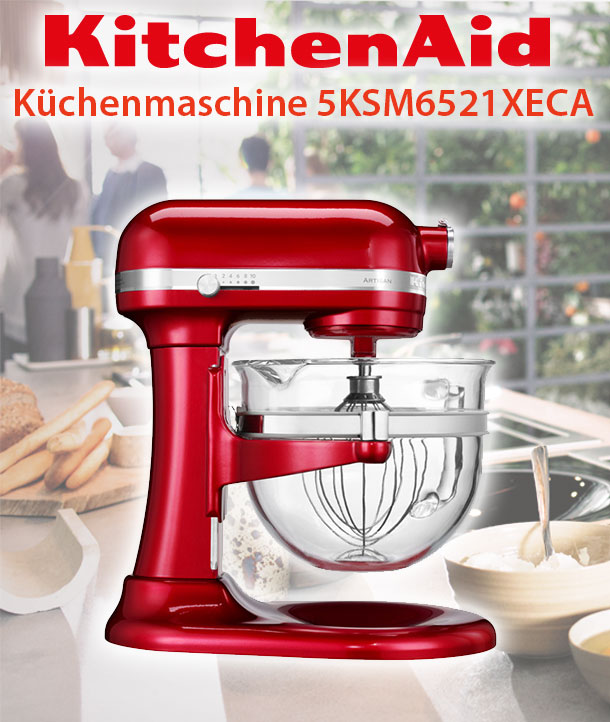 kitchenaid artisan 5ksm6521xe factory serviced. Black Bedroom Furniture Sets. Home Design Ideas