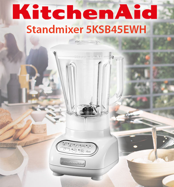kitchenaid classic 5ksb45ewh factory serviced standmixer. Black Bedroom Furniture Sets. Home Design Ideas