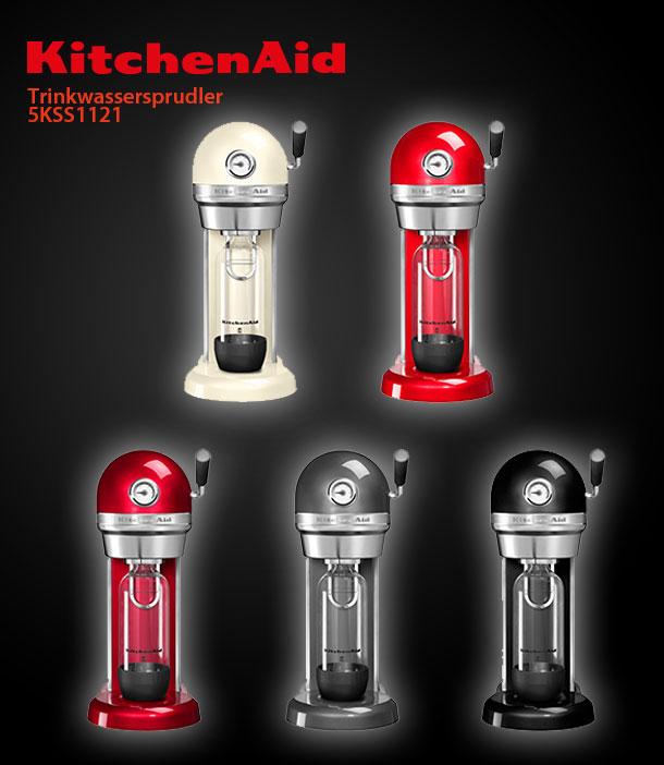 kitchenaid artisan trinkwassersprudler 5kss1121 powered by. Black Bedroom Furniture Sets. Home Design Ideas