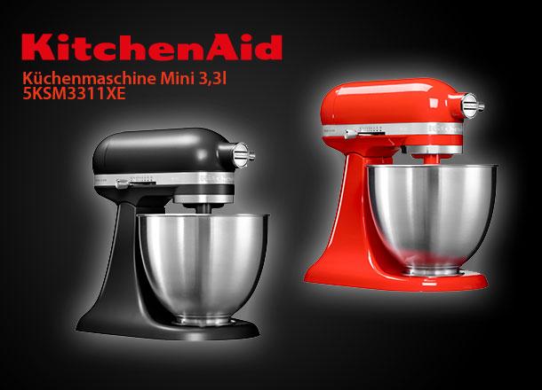 kitchenaid artisan mini 5ksm3311xe k chenmaschine 3 3l direktantrieb ebay. Black Bedroom Furniture Sets. Home Design Ideas