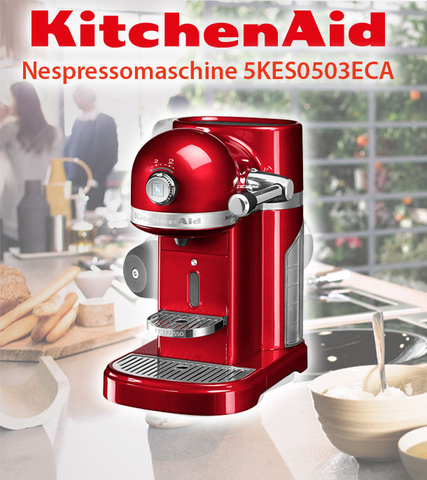 kitchenaid 5kes0503e nespresso kapselautomat kaffeemaschine factory serviced deltatecc ihr. Black Bedroom Furniture Sets. Home Design Ideas