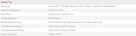 LG 34GK950G B 17160206509 15