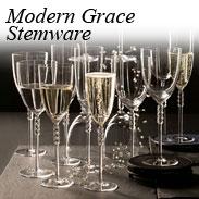 Modern Grace Stemware