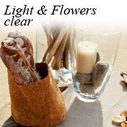 Light & Flowers clear - Vasen