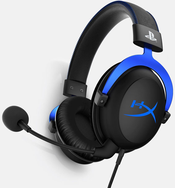 HyperX Gaming Headset Cloud schwarz blau Lizensiert 11399964312 11