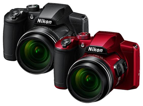 Nikon Coolpix B600 schwarz rot 01