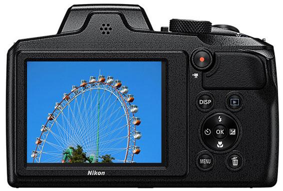 Nikon Coolpix B600 schwarz rot 02