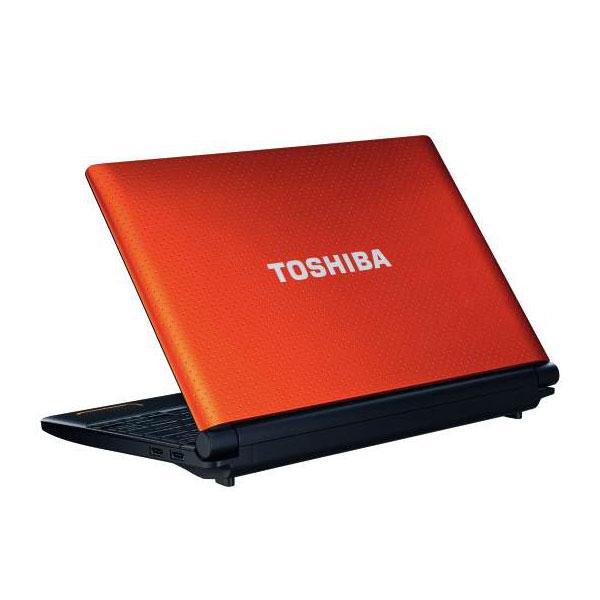Toshiba NB520 125 Netbook N2600 1GB 320GB GMA3150 Orange