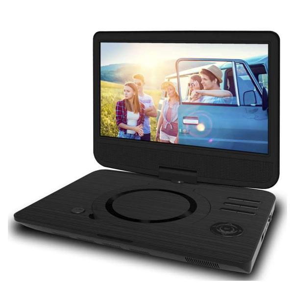 odys furo 10 portabler dvd player mit drehbarem 25 7cm. Black Bedroom Furniture Sets. Home Design Ideas