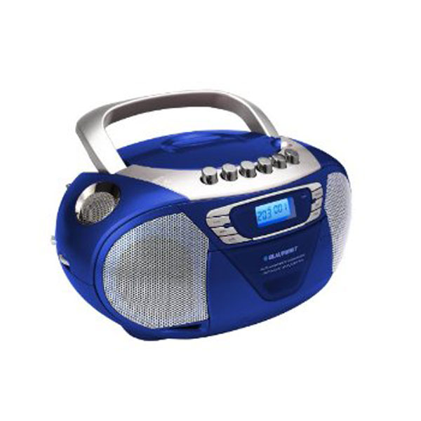 blaupunkt b10 radiorecorder mit cd player blau ebay. Black Bedroom Furniture Sets. Home Design Ideas