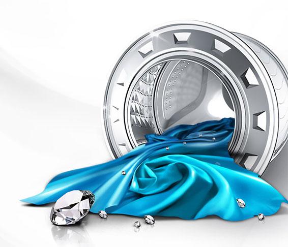 Diamond Pflegetrommel   Sanftes Und Schonendes Waschen
