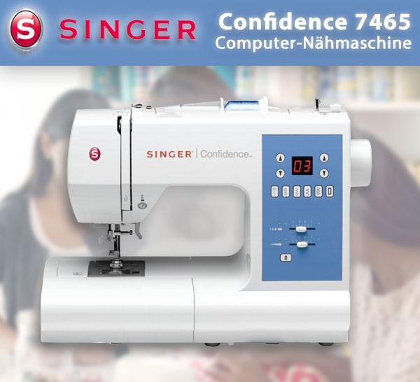 VSM Singer 7465 Confidence Computer Nähmaschine