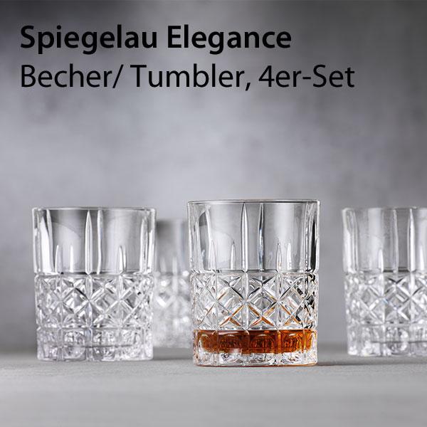 Spiegelau 2750176 Elegance Becher Set 4tlg.