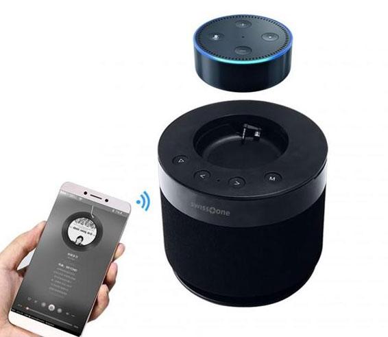 swisstone dotbox 1 amazon alexa echo dot upgrade speaker. Black Bedroom Furniture Sets. Home Design Ideas