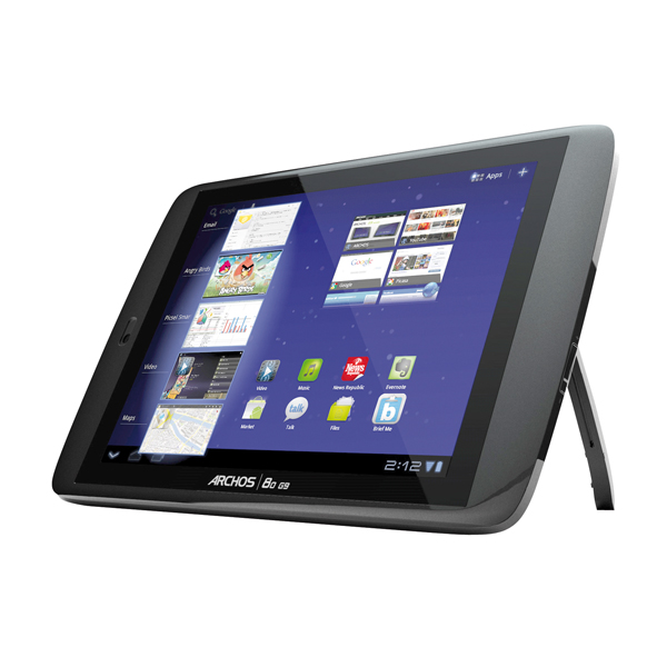 Archos 80 G9 8GB Tablet-PC 20,3cm (8 Zoll) Android 4.0 ...