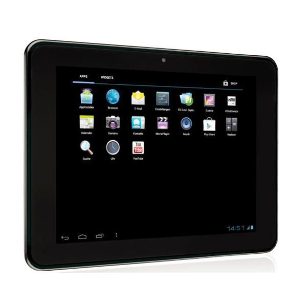 blaupunkt endeavour 800 tablet pc 20 3cm 8 zoll 1 5 ghz. Black Bedroom Furniture Sets. Home Design Ideas