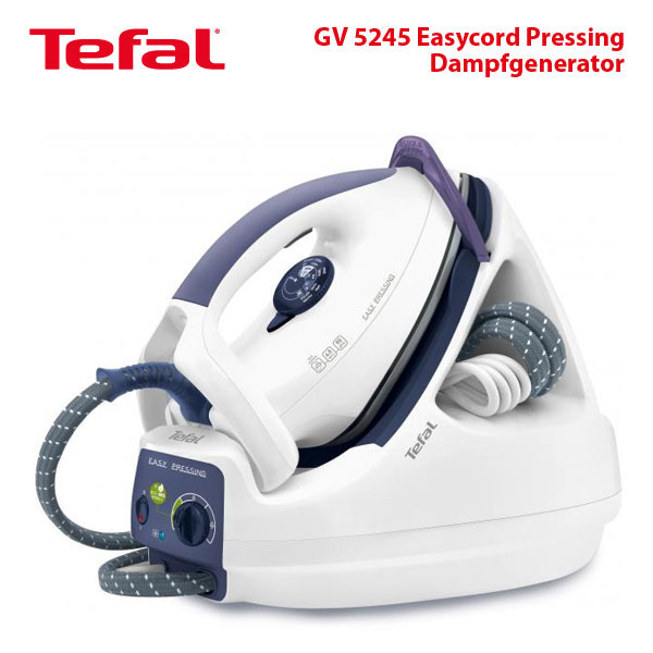 tefal gv 5245 dampfgenerator easycord pressing. Black Bedroom Furniture Sets. Home Design Ideas