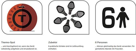 TEFAL RE 1288 Raclette Grill Plancha schwarz 36424034838 12