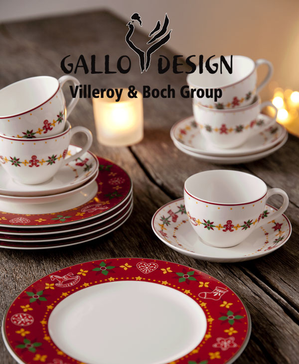 villeroy boch peaceful christmas kaffeeset 18tlg rot kaffeegeschirr geschirr ebay. Black Bedroom Furniture Sets. Home Design Ideas