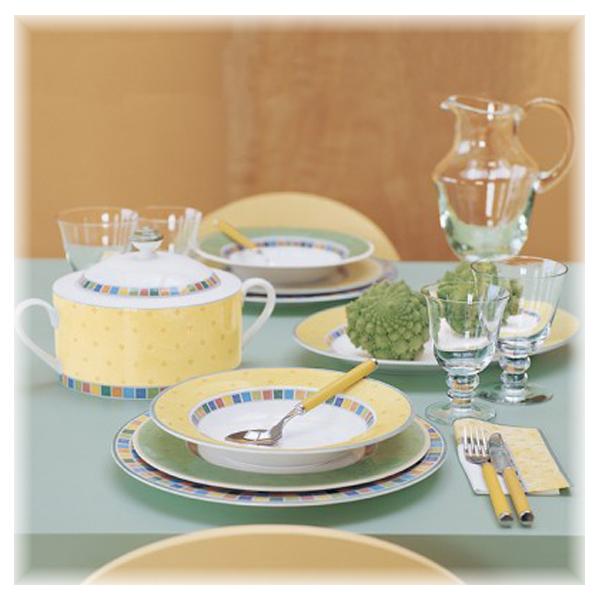 villeroy boch twist alea verde suppenteller 24 cm ebay. Black Bedroom Furniture Sets. Home Design Ideas