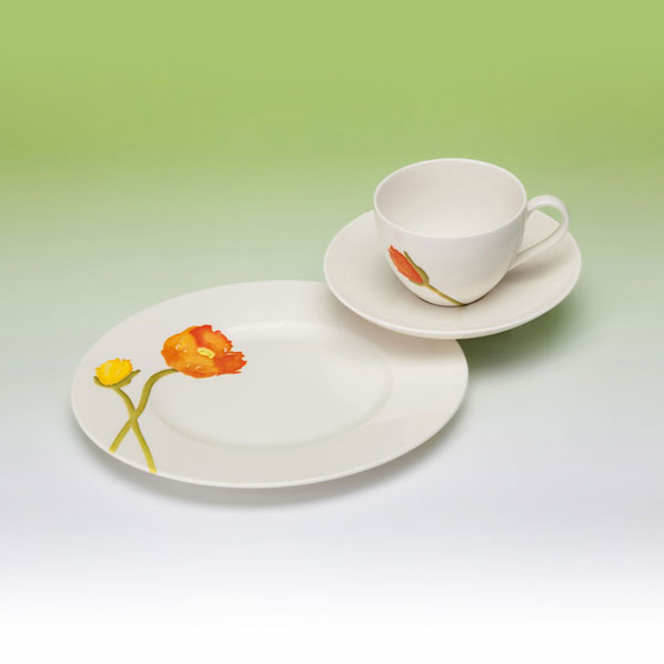 gallo design villeroy boch group gallo design iceland poppies kaffeeset 18tlg ebay. Black Bedroom Furniture Sets. Home Design Ideas