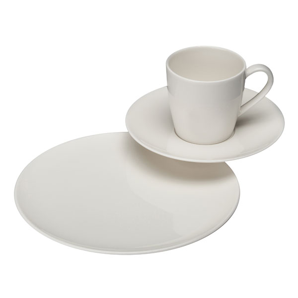 vivo villeroy boch group voice basic kaffeeset 18tlg tafelservice ebay. Black Bedroom Furniture Sets. Home Design Ideas