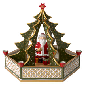 villeroy boch christmas toys tannenbaum mit santa v b 14. Black Bedroom Furniture Sets. Home Design Ideas