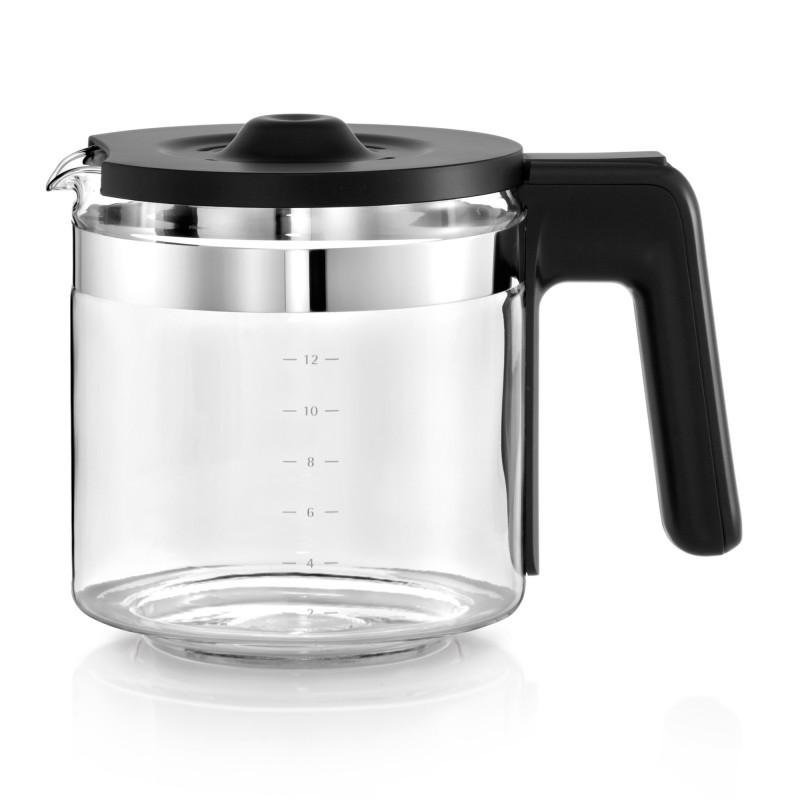 wmf lono glas kaffeemaschine filterkaffee kaffeeautomat mit glaskanne 12 tassen ebay. Black Bedroom Furniture Sets. Home Design Ideas