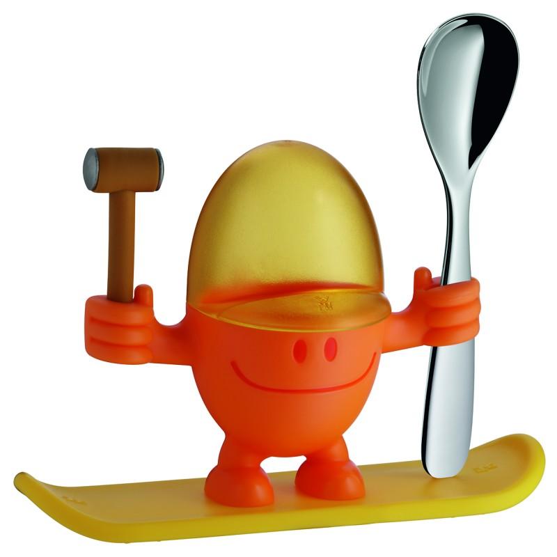 wmf mcegg eierbecher orange 616687450 kunststoff sp lmaschinenfest ebay. Black Bedroom Furniture Sets. Home Design Ideas