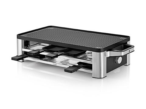 Wmf Elektrogrill Media Markt : Wmf lono raclette grill cromargan matt 1500 watt leistung ebay