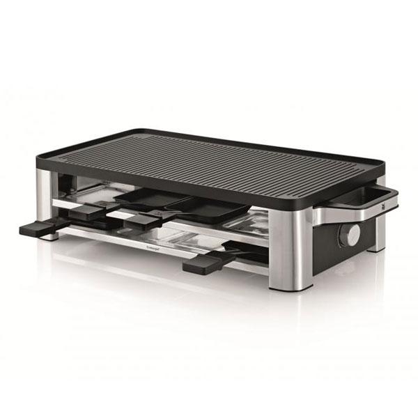 wmf lono raclette grill cromargan matt 1500 watt leistung ebay. Black Bedroom Furniture Sets. Home Design Ideas
