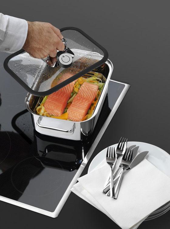 wmf vitalis compact aroma dampfgarer cook assist. Black Bedroom Furniture Sets. Home Design Ideas