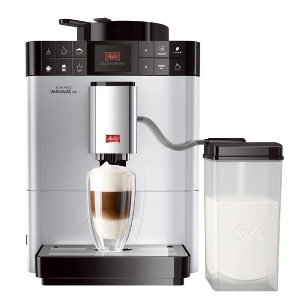 melitta caffeo varianza csp f57 0 101 kaffeevollautomat silber ebay. Black Bedroom Furniture Sets. Home Design Ideas