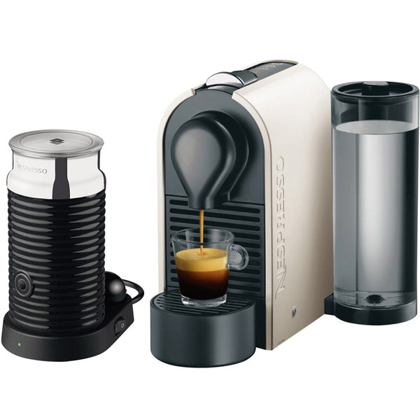 krups xn 2511 nespresso u pure cream aeroccino3. Black Bedroom Furniture Sets. Home Design Ideas