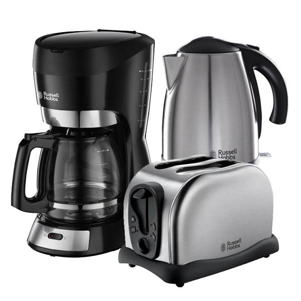 russell hobbs futura set kaffeemaschine toaster wasserkocher fr hst cksset ebay. Black Bedroom Furniture Sets. Home Design Ideas
