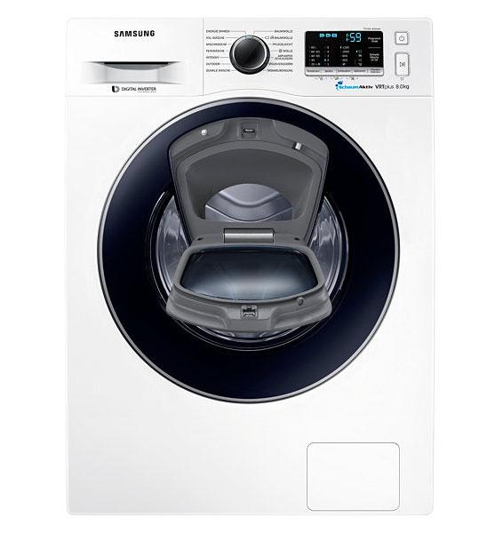 samsung ww80k52a0vw eg 8kg waschmaschine slim addwash schontrommel neu ebay. Black Bedroom Furniture Sets. Home Design Ideas