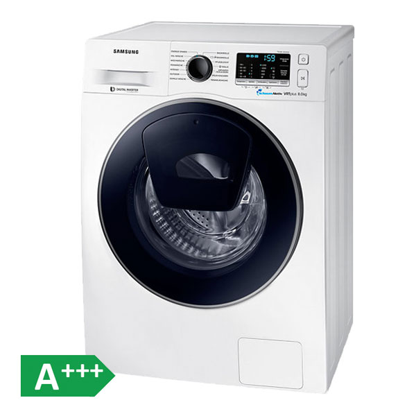 samsung ww80k52a0vw eg 8kg waschmaschine slim addwash schontrommel ebay. Black Bedroom Furniture Sets. Home Design Ideas