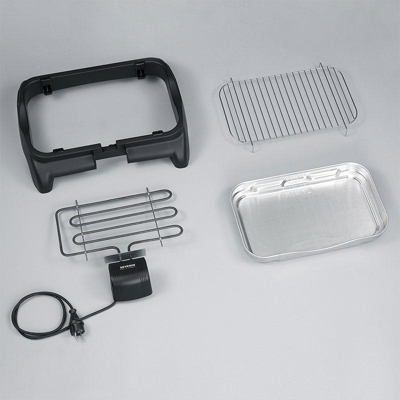 severin pg 9320 barbecue tisch grill elektrogrill 2300. Black Bedroom Furniture Sets. Home Design Ideas