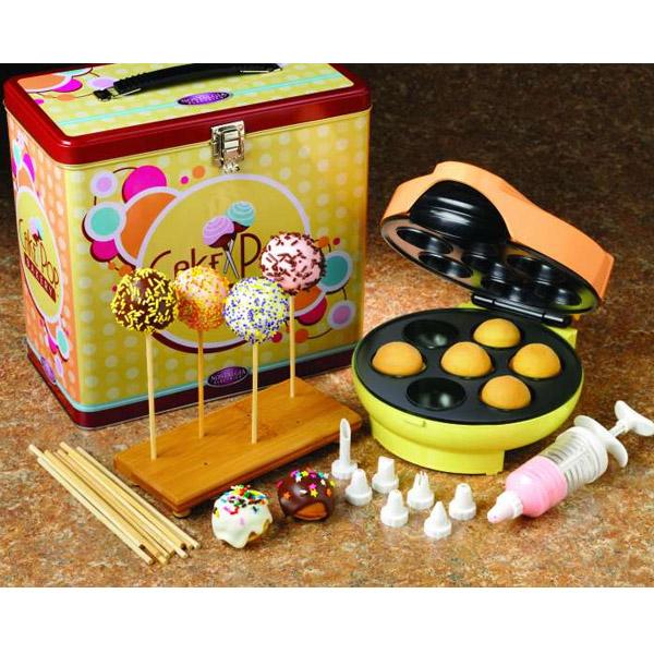 simeo domena fc 610 cake pop maker s waren kuchen am stiel in geschenkbox ebay. Black Bedroom Furniture Sets. Home Design Ideas