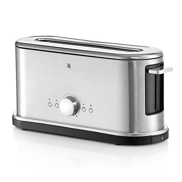 wmf lineo toaster edelstahl 900 watt langschlitz lift automatik br tchenaufsatz ebay. Black Bedroom Furniture Sets. Home Design Ideas
